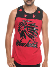 Tanks - Winchester Chief's Head Tank Top