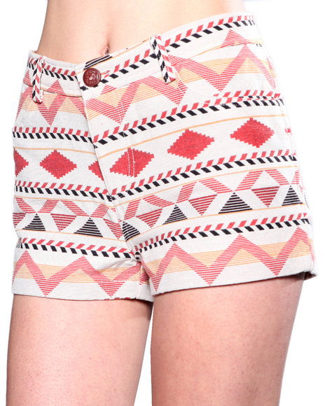 Djp Outlet - Women Beige Bb Dakota Hayley Anita Jaquard Short