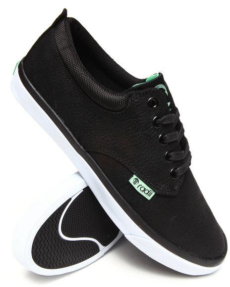 Radii Footwear - Men Black,Teal The Jax Sneakers With Scotchguard