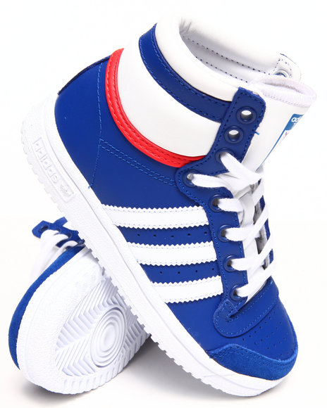 Adidas Boys Blue Top Ten Hi C Sneakers (11-3)