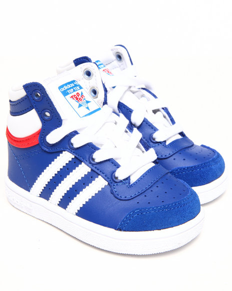 Adidas Boys Blue Top Ten Hi Inf Sneakers (Infant)