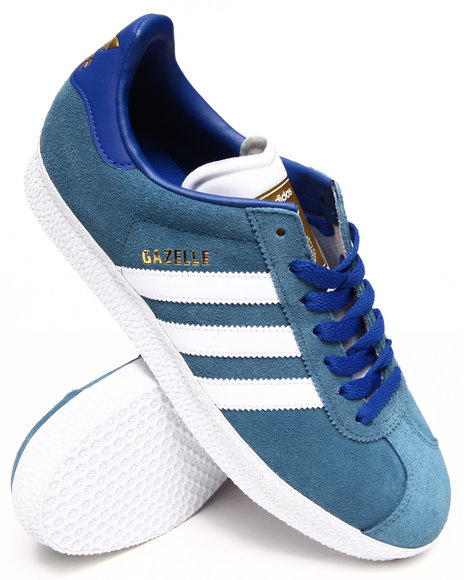 Adidas - Men Blue Gazelle Ii Sneakers