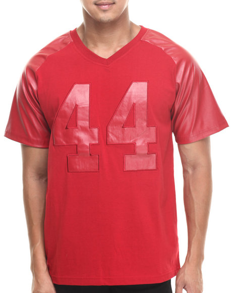 Waimea Red P / U Football Raglan
