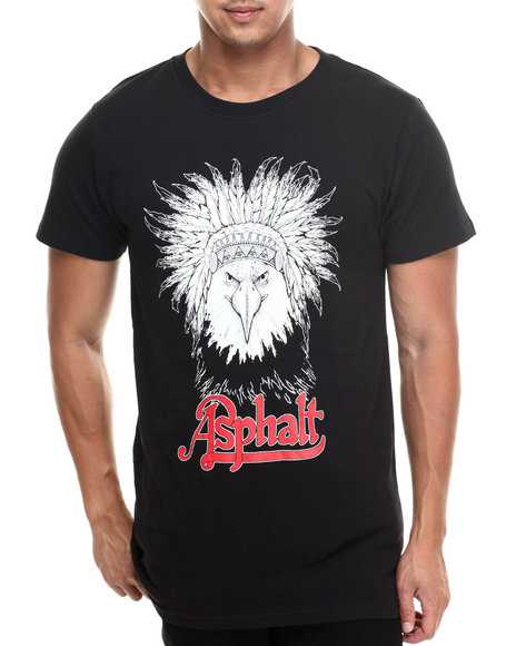 Asphalt Yacht Club - Eagle Headdress Solid Tee