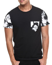 The Skate Shop - Concrete Floral Clash Pocket Tee