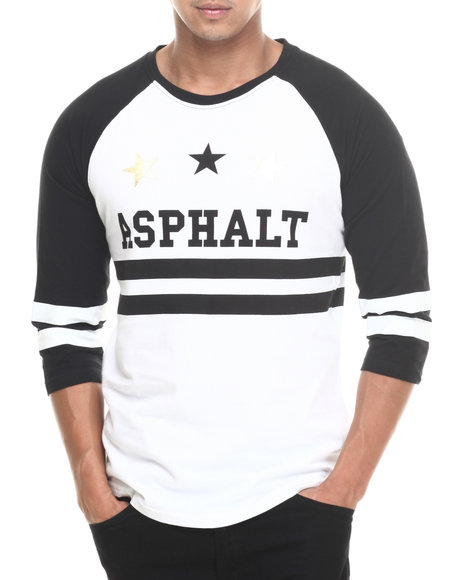 Asphalt Yacht Club Black,White T-Shirts