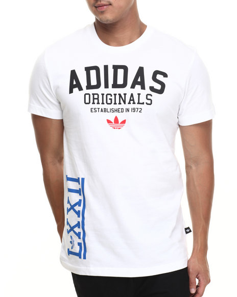 Adidas White Collage Tee