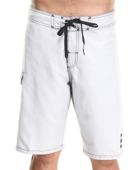 Etnies - Men Light Grey Board Shorts - $13.99