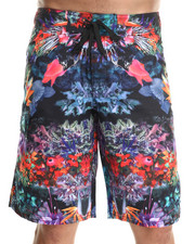 Shorts - Exotic Floral Boardshorts