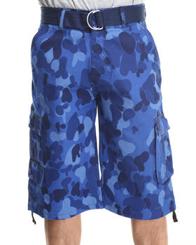 Buyers Picks - Fun Belted Camo Shorts