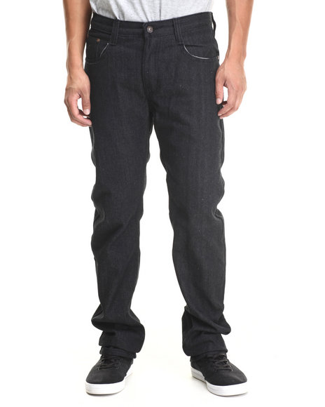 Basic Essentials - Men Black G S N S Colored Denim Jeans