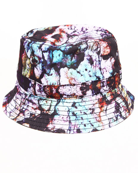 Waimea Cement Paint Bucket Hat Black Large/X-Large