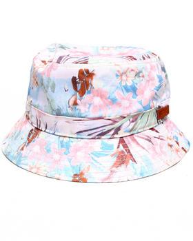 Waimea - Pastel Floral Bucket Hat