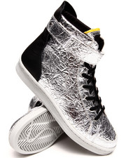 Sneakers - Adidas SLVR Metallic Cupsole Hightop
