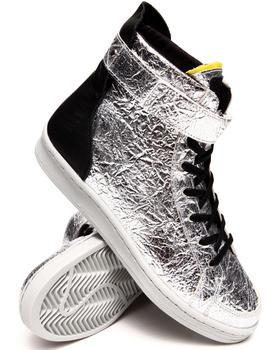 Adidas - Adidas SLVR Metallic Cupsole Hightop