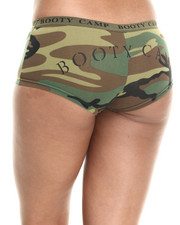 "DRJ Army/Navy Shop - Woodland Camo ""Booty Camp"" Shorts"