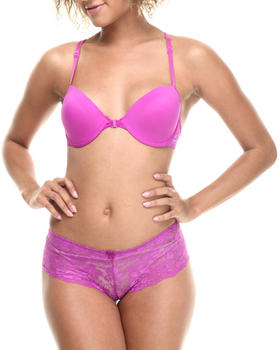 Baby Phat - Allover Lace Racerback Bra Set