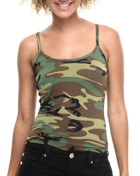 DRJ Army/Navy Shop - Woodland Camo Tank Top