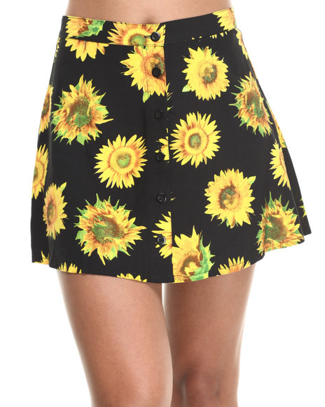 Motel Black Andrea Skirt
