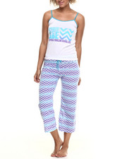 Intimates & Sleepwear - Chevron Capri PJ Set