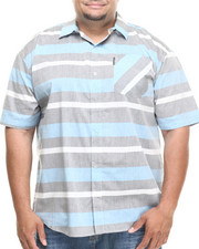 Ecko - Chambrey Stripe S/S Button-Down (B&T)