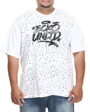 Ecko - Splat Effect T-Shirt (B&T)