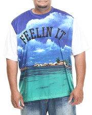 Rocawear - Aquatic Crew Sublimation Tee (B&T)