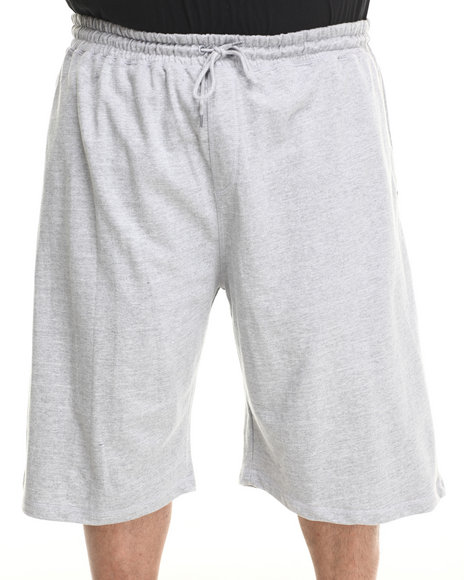 Rocawear - Men Grey Scratch Solid Knit Shorts (B & T)