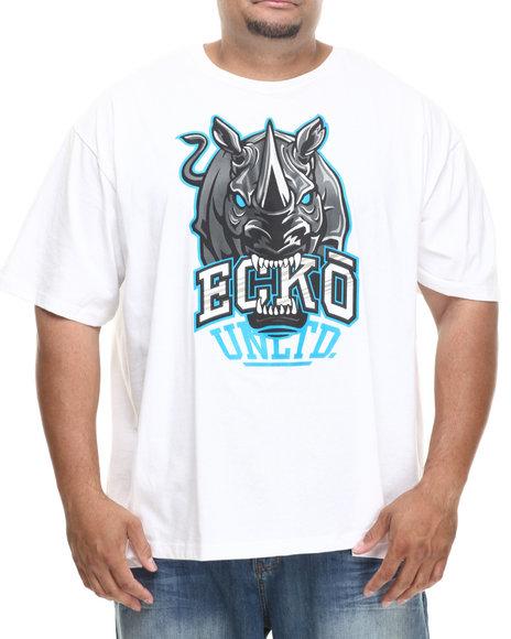 Ecko - Men White Big Bites T-Shirt (B&T)