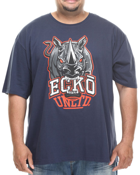 Ecko - Men Navy Big Bites T-Shirt (B&T)