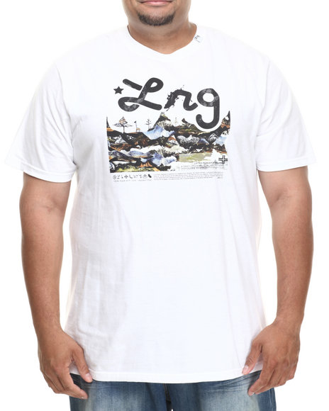 Lrg - Men White O G Roots People S/S Tee (B&T)