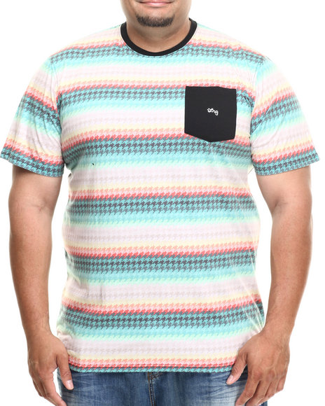Lrg - Men Multi Bright Side  S/S Knit Tee (B&T)