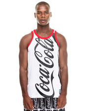 -FEATURES- - Coca Cola Mesh Tank