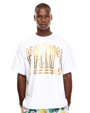Shirts - Gold Paris Big Tee