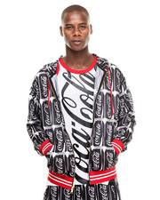Jackets & Coats - Coca Cola Mesh Hoodie