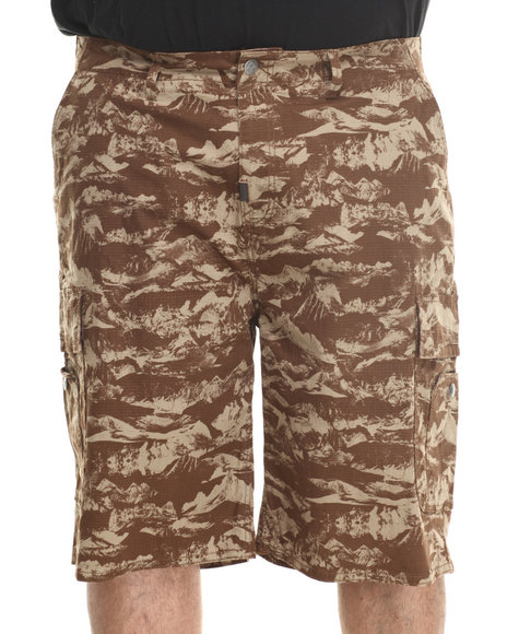 Lrg - Men Camo Sunrise To Sunset Classic Cargo Shorts (B&T)