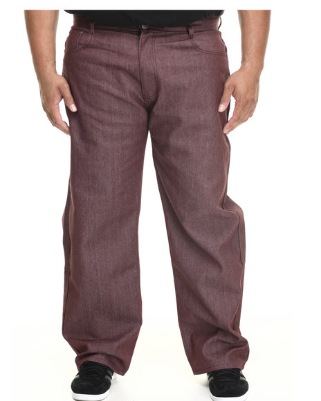 Buyers Picks - Men Maroon G S N S Colored Denim Jeans (B&T)