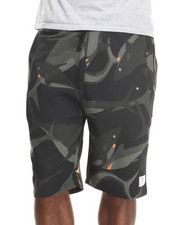 Lemar & Dauley - Black Ocean Sharks Sweatshorts