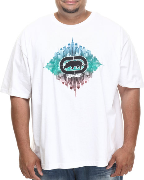 Ecko - Men White Diamond City T-Shirt (B&T)