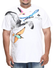 LRG - BIRDS FLOCK TO TREES S/S TEE (B&T)