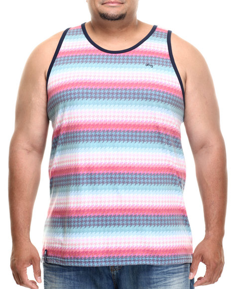 Lrg - Men Navy Bright Side Tank (B&T)