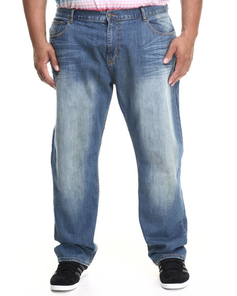 Lrg - Men Medium Wash The Break Aways True - Straight Jeans (B&T)