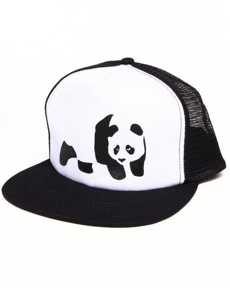 Enjoi Men Panda Truck Cap White