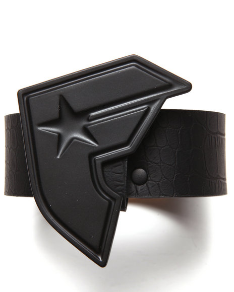 Famous Stars & Straps Black Big Boh Belt
