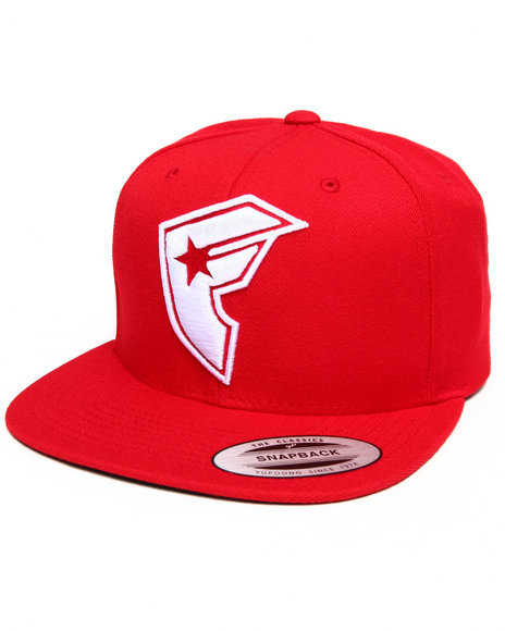 Filthy Dripped Official Boh Snapback Hat Red