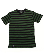 LRG - STRIPED  V-NECK TREE LOGO TOP (8-20)