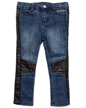 Baby Phat - JEANS W/ TWILL PIECING (2T-4T)