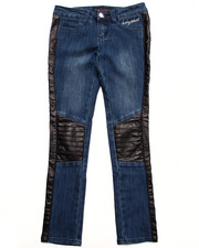 Baby Phat - JEANS W/ TWILL PIECING (7-16)