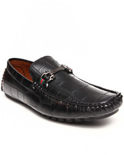 Buyers Picks - Faux Croc Leather buckle Loafer