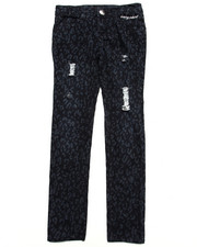 Bottoms - PRINTED TWILL EMB PANT (7-16)